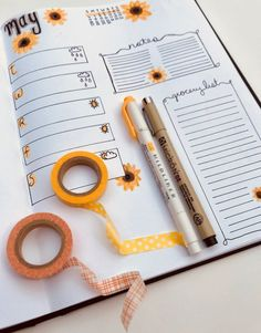 9 Bullet Journal Spreads For Spring. Looking for inspiration for your bullet journal for the spring months ahead? Check out these spring spreads that make organizing your bullet journal quick and easy!