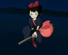 kiki's delivery service animated gif - Google Search