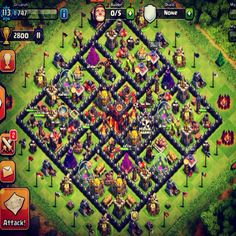 Clash of clans Clsh Of Clans, Clash Royale, Base, City, Google, Design, City Drawing, Cities