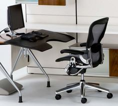 Statuette of Herman Miller Aeron Chairs: Exclusive and Extremely Comfortable Chairs That Fit Well for Your Home office