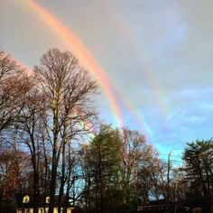Science behind the quadruple rainbow (actually two double rainbows)