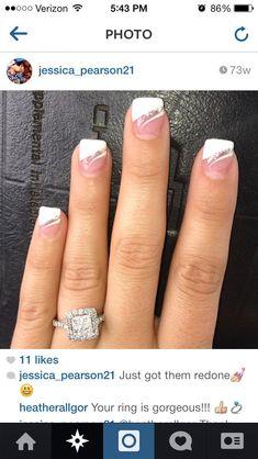 Hochzeitsnägel Nageldesign - 50+ Ideen für die modebewusste Braut #Hochzeitsnägel #Nageldesigns