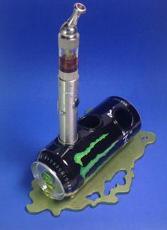DarksideArt Monster Energy Drink Vape Stand by DarksideArt on Etsy, $45.00