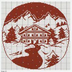 Cross Stitch *<3* Snow