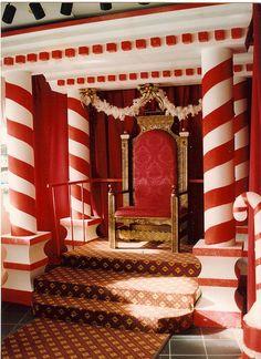 Santa Throne by Rick Romer, via Flickr