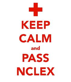 keep calm & pass nclex