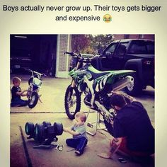 538a42617a8 Boys actually never grow up. Their toys get bigger and expensive Tag your  pics and