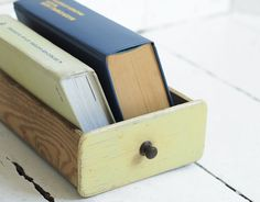 Vintage drawer wooden box wooden draver from old by ThingsWithSoul, $13.00