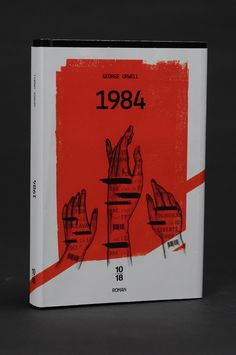 1984  George Orwell  Book cover design by Philippe Taing