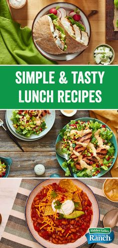 We've got the cure for the hangries with lunch ideas that will make kids smile, and be the envy of the office lunch crowd. Click for more recipes!