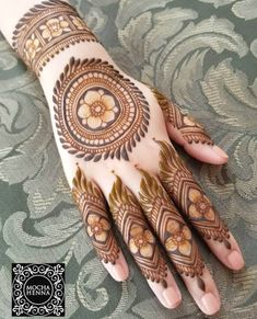 Check beautiful & easy mehndi designs 2020 ideas for mehandi ceremony. Save these latest bridal mehandi designs photos to try on your hands in this wedding season.