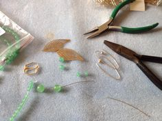 Making golden leaves