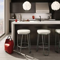 Tahoe Counter Stool | Modern Bar   Counter Stool | Contemporary Kitchen |  Eurway
