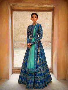 Make a grand entry at the wedding adorning this meticulously handcrafted lehenga ensemble by Vasansi Jaipur. Whatsapp us now for personal shopping experience! Call/WhatsApp for Purchase Inqury : Indian Wedding Gowns, Indian Bridal Outfits, Indian Gowns Dresses, Indian Designer Outfits, Wedding Lehnga, Designer Dresses, Indian Wedding Clothes, Indian Designers, Wedding Hijab