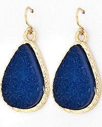 Montana Blue Agate Acrylic #Earrings $8 #jewelry