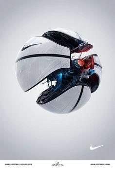 Sélection de la semaine, #WTF, #Cosplay, #Geek, #FunFacts, #Design, #Photographie, #Vrac - Nike – Ballon de basketball hightech