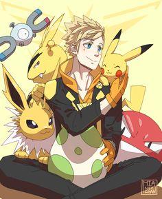 Pokemon Go | Team Leader Spark by mia-nee-chan.tumblr.com