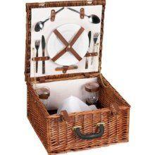 Picnic basket for 2. $53
