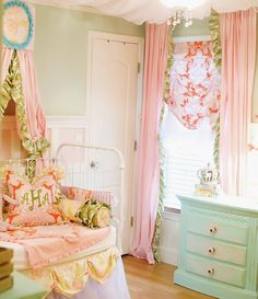 Beautiful and Precious Addison Toddler Bedding Collection- Includes 3 Pieces. $879.00, via Etsy.