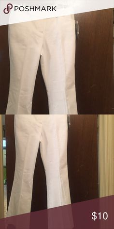 New white slacks Brand New cute white slacks Worthington Pants Wide Leg