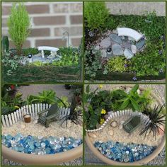 Practical Ideas On How to Create a Miniature Garden - Find Fun Art Projects to Do at Home and Arts and Crafts Ideas