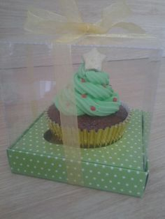 cupcake arvore de natal