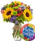 Win Birthday Flowers http://lisareviews.com/2012/10/11/birthday-flowers-giveaway/