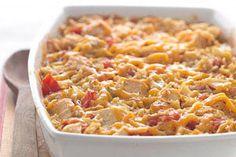 Tex-Mex Chicken and Rice Casserole recipe