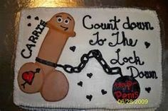 Image detail for -Bachelorette Cake   This would be the only kind of penis cake i would say ok to simply cause its too funny!  Lmao Other than that NOoo jeanette!