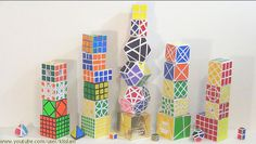 Rubik's Cube Towers