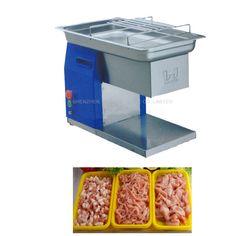 627.00$  Watch now - http://aliz46.worldwells.pw/go.php?t=32732317157 - 110V220V/240V Hot Sale Meat Grinder 250KG Commercial Use New Design Meat Slicer Cutting Machine QH 627.00$
