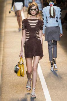 Fendi Spring 2015 Ready-to-Wear - Fendi Ready-to-Wear Collection