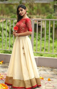 50 indian outfits ideas for women are becoming a trend current fashi Long Skirt Top Designs, Long Skirt And Top, Long Dress Design, Indian Fancy Dress, Dress Indian Style, Indian Skirt And Top, Indian Designer Outfits, Indian Outfits, Designer Dresses