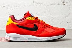 Nike Air Base II: Challenge Red & Laser Orange
