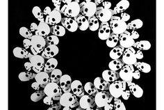 Skull wreath 1