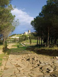 Piombino, province of Livorno , Tuscany,  Italy - Castello di Populonia