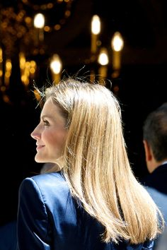 Queen Letizia of Spain attend a Meeting with representatives of associations and foundations of victims of terrorism at Palacio de Zurbano, 21.06.2014 in Madrid.