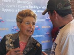 "Author Phyllis Schlafly Kicks Off ""No McCaskill"" Tour in Hannibal, Oct. 28, 2012"