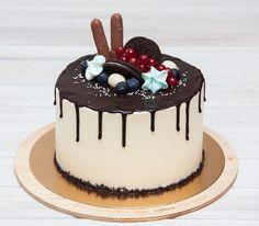 malý dort k narozeninám V letní den   letní dort. Z vafle kužele jako roh hojnosti a nalil  malý dort k narozeninám