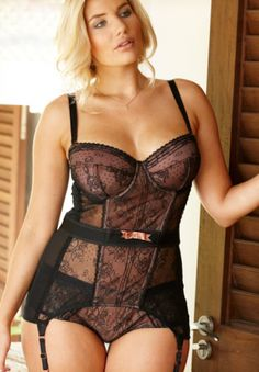 Erika Elfwencrona - Gossard Ooh La La Corselette available at Simply Yours.png