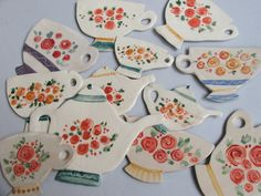 Iva Brkic . ceramic magnets