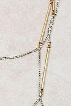 White Patina Eadoni Necklace Cabana, Chains, Arrow Necklace, Jewels, My Style, Unique, Closet, Accessories, Armoire