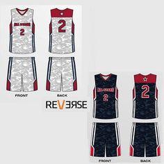 f1282475a04 Custom Made Sublimated Reversible Basketball Uniform Alpha Designed