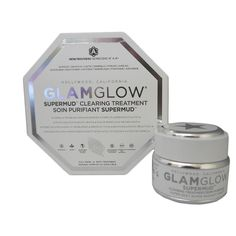 $49.99 Glamglow Supermud Clearing Treatment 1.2-ounce Mud Mask - Overstock™ Shopping - Top Rated GlamGlow Anti-Aging Products