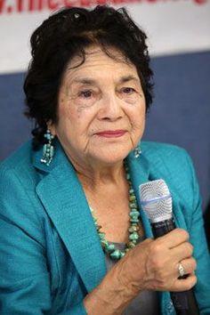 """Dolores Huerta Says Latinos Have """"Long Road"""" To Travel   Latina"""