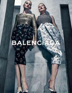 Steven Klein // Balenciaga // Lara  Stone & Kate Moss