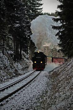 Steam Engine, Bavaria, Germany