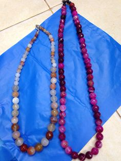 Necklaces from gemstone's of borneo. Grab it fast. US $ 50.