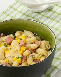how to cook simple macaroni soup