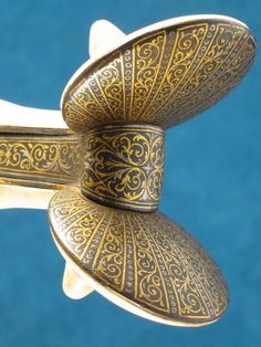 Magnificent 19th C. Spanish Ear Dagger in 15th C. Style